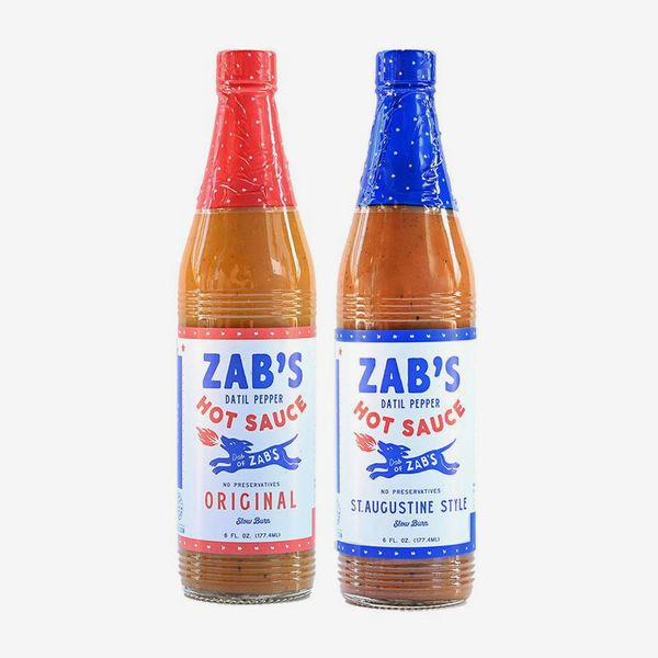 Zab's Sauce Pack of Original and St. Augustine–Style Hot Sauces