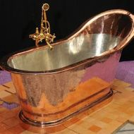 Michael Bloombergu0027s $13,000 Bespoke Copper Bathtub Took 250 Hours To Build