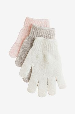 Urbana Exfoliating Gloves for Shower, Bath, and Cleansing