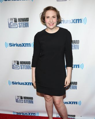NEW YORK, NY - JANUARY 31: Lena Dunham attends SiriusXM's