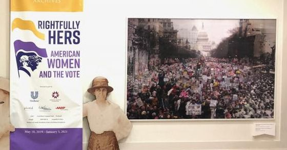 National Archives: Censoring Women's March Signs Was Mistake