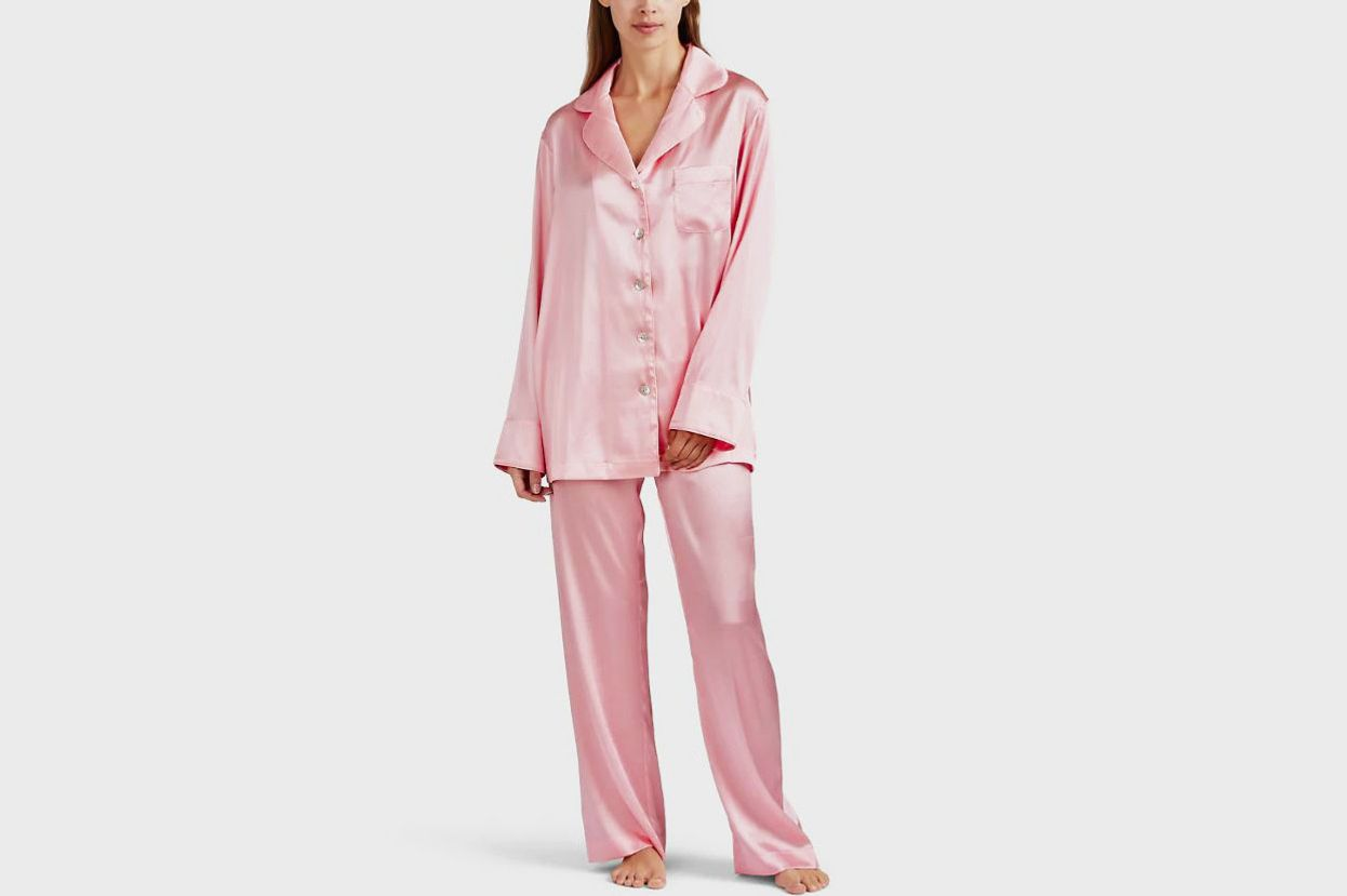 26 Best Silk Pajamas for Women 2018 9d0f7545e