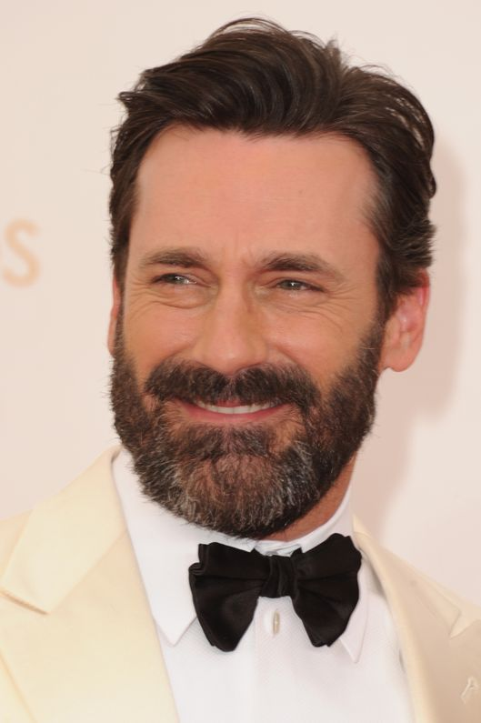 LOS ANGELES, CA - SEPTEMBER 22: Actor Jon Hamm arrives at the 65th Annual Primetime Emmy Awards held at Nokia Theatre L.A. Live on September 22, 2013 in Los Angeles, California.  (Photo by Steve Granitz/WireImage)