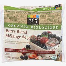 365 Everyday Value, Frozen Organic Berry Blend, 10 Oz.