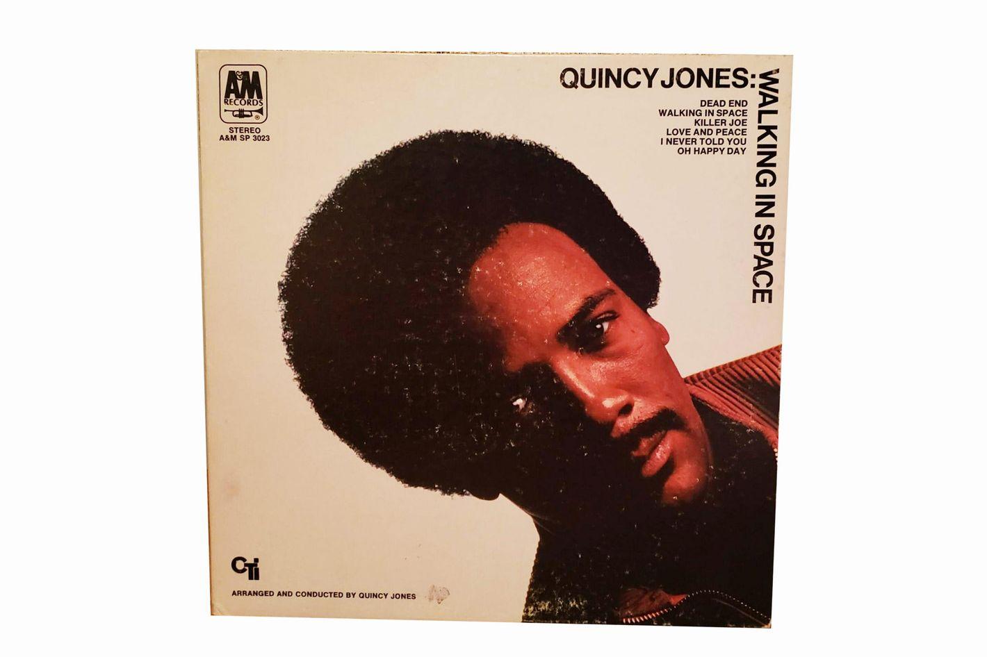 """Quincy Jones """"Walking in Space"""" Vinyl LP"""