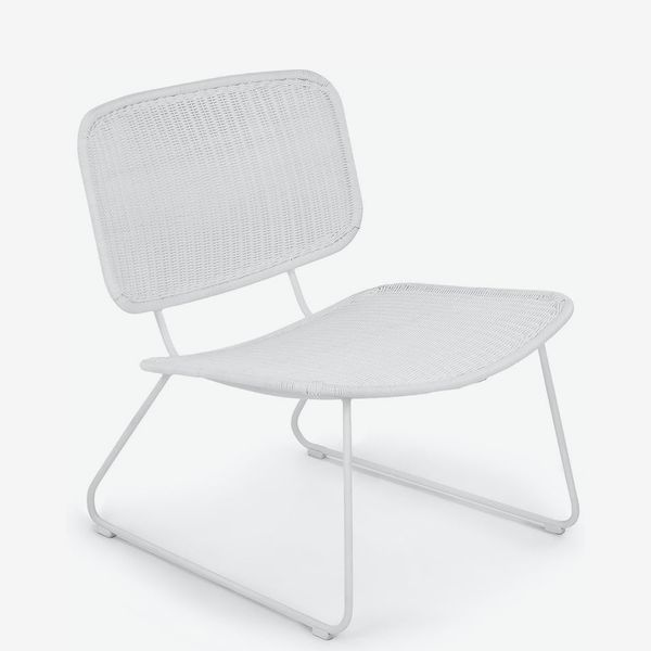 Article White Rumi Lounge Chair