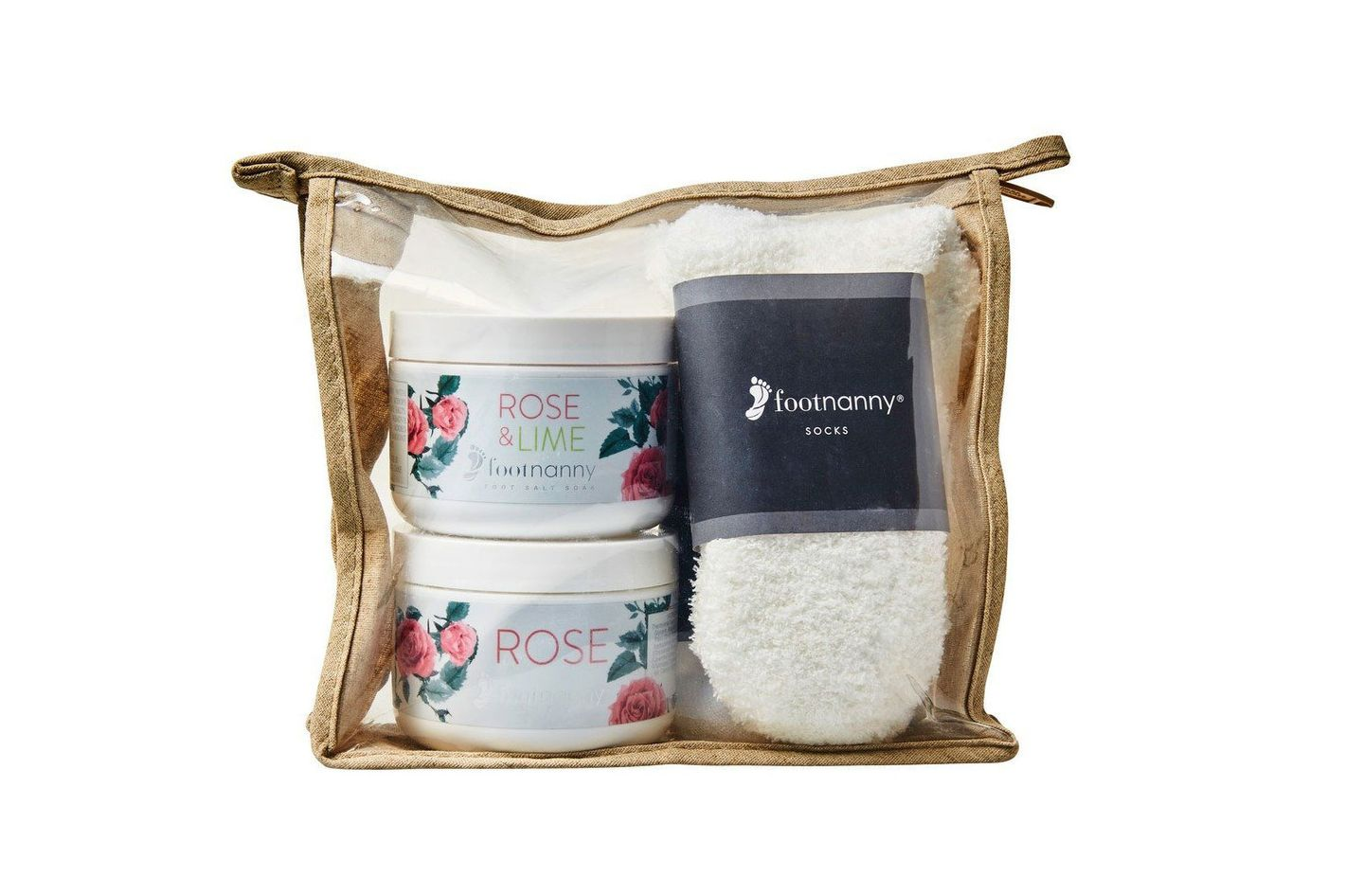 Footnanny Rose Treatment Gift Set