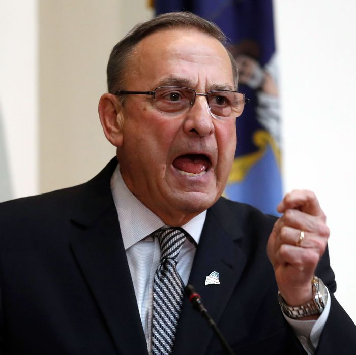 Paul LePage Says Electoral College Protects White People