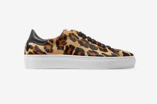 Axel Arigato Leopard Calf Hair Sneakers