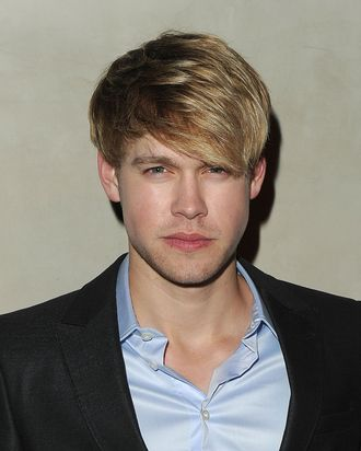 LOS ANGELES, CA - OCTOBER 11: Actor Chord Overstreet arrives at the Giorgio Armani / Vanity Fair private dinner on October 11, 2011 in Los Angeles, California. (Photo by Jason Merritt/Getty Images for Giorgio Armani)