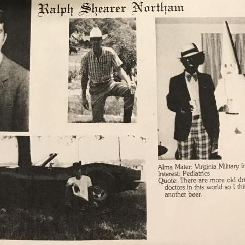 Ralph Northam's Yearbook Page Shows Man in Blackface