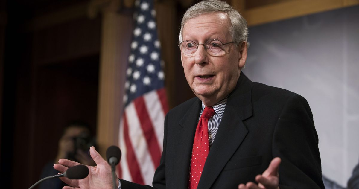 McConnell: Trump Tricked Me Into Backing His Coup