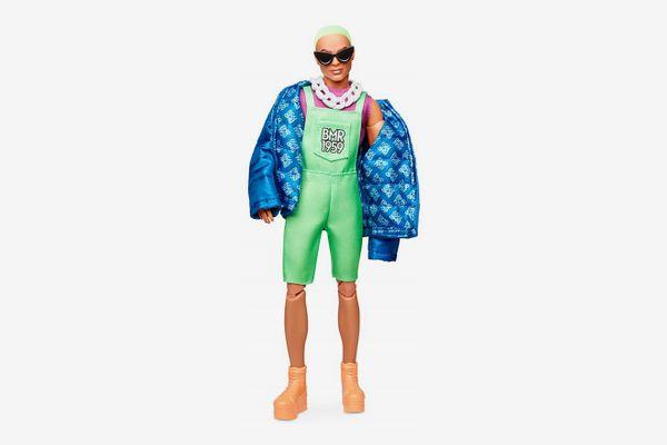 Barbie BMR1959 Doll, Neon Overalls & Puffer Jacket