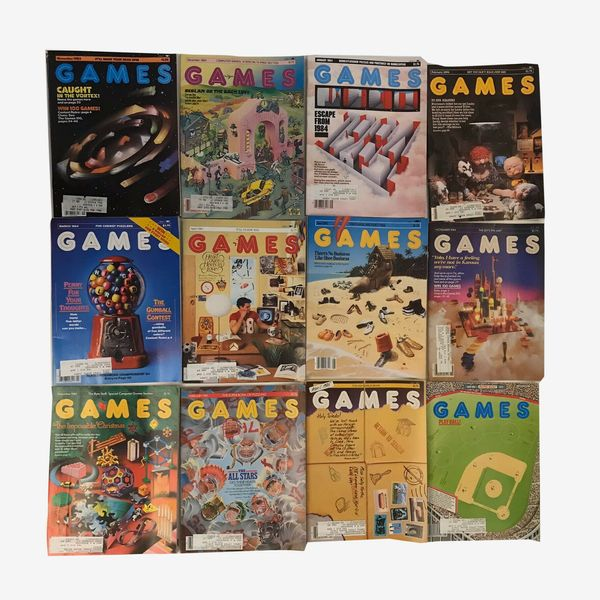 Games Magazine Back Issues