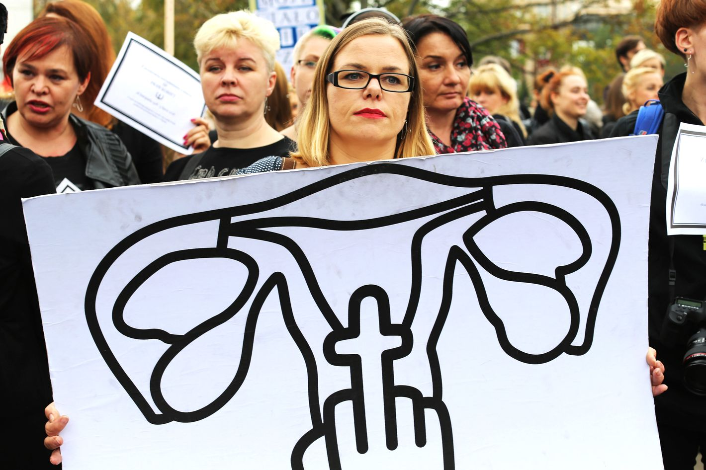 Black Monday: Thousands of Polish women strike in protest of abortion ban