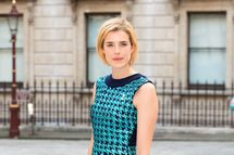 Agyness Deyn attends a special 'Celebration of the Arts' event at the Royal Academy of Arts on May 23, 2012 in London, England.