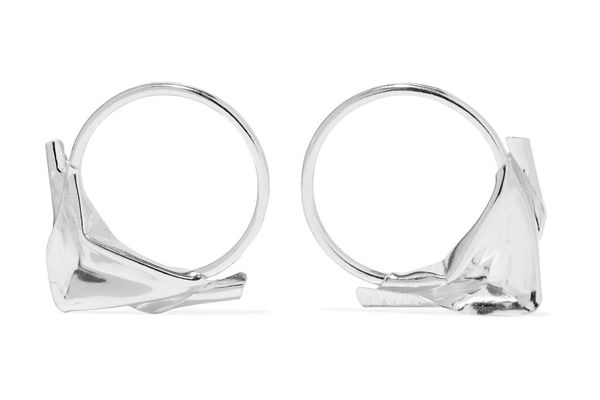 Closer by Wwake Sterling Silver Earrings