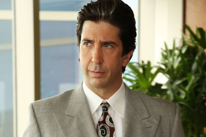 "THE PEOPLE v. O.J. SIMPSON: AMERICAN CRIME STORY ""The Dream Team"" Episode 103 (Airs Tuesday, February 16, 10:00 pm/ep) -- Pictured: David Schwimmer as Robert Kardashian. CR: Byron Cohen/FX"