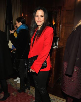 Mary-Louise Parker attends the Stella McCartney Autumn 2013 Presentation at 680 Park Avenue on January 8, 2013 in New York City.