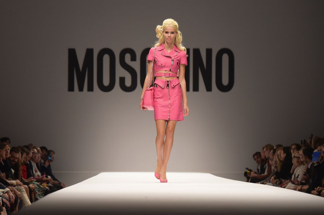 It Was a Barbie World at Moschino -- The Cut