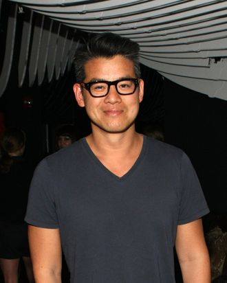 Designer Peter Som attends W Hotels, Vogue and the CFDA Celebrate Chinese designer Uma Wang at W New York - Downtown on May 16, 2012 in New York City.