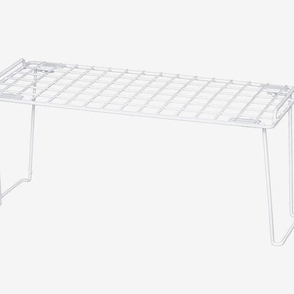 Smart Design Stacking Cabinet Shelf Rack, Large (16x10
