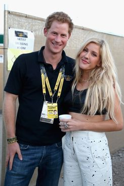 Prince Harry and Ellie Goulding in 2014.