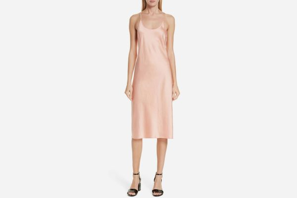 ALEXANDERWANG.T satin slip dress