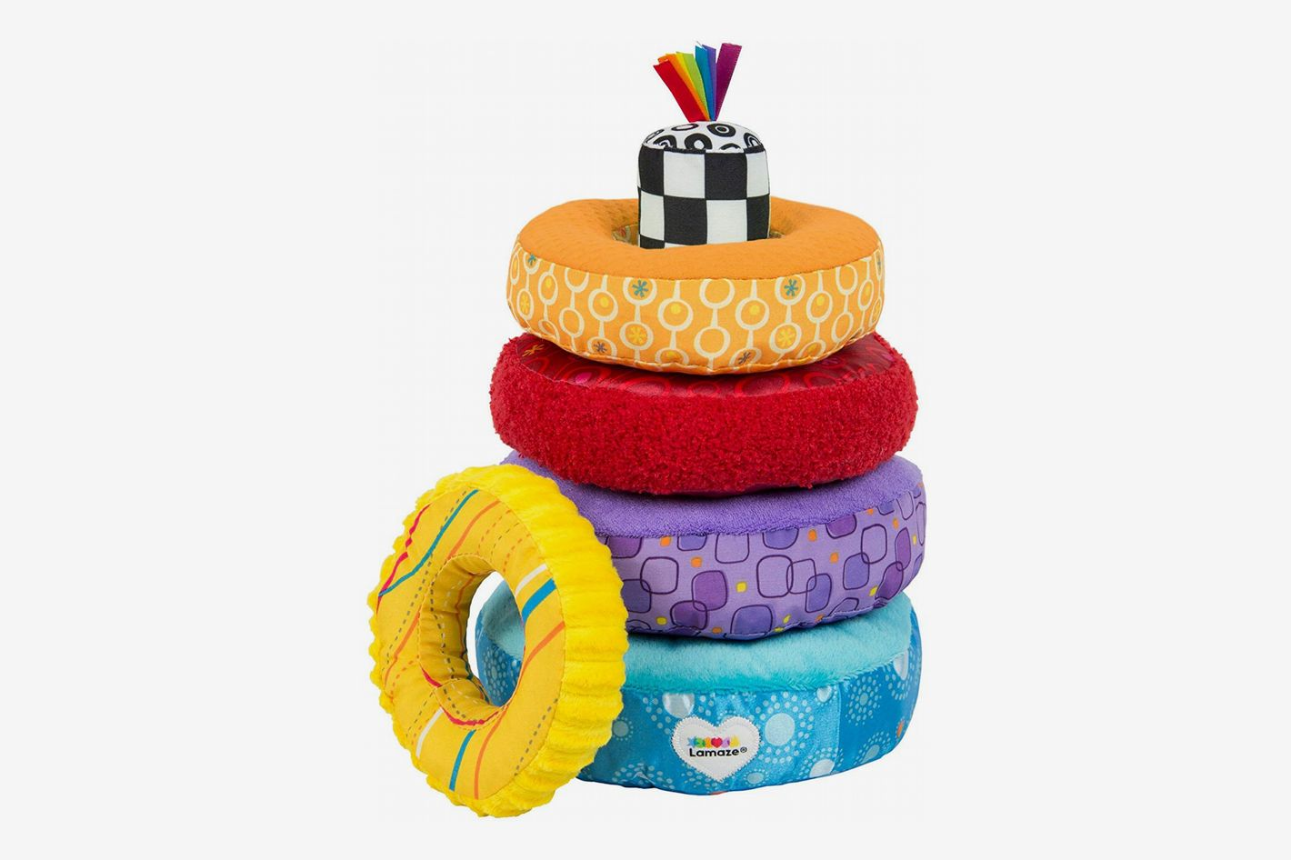 LAMAZE Rainbow Stacking Rings Toy