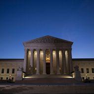 Antonin Scalia's Body Lies In Repose In Great Hall Of U.S. Supreme Court