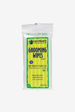 Earthbath All Natural Hypo-Allergenic Grooming Wipes