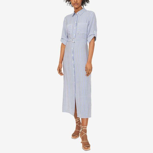 Riley & Rae Hayden Stripe-Print Dress