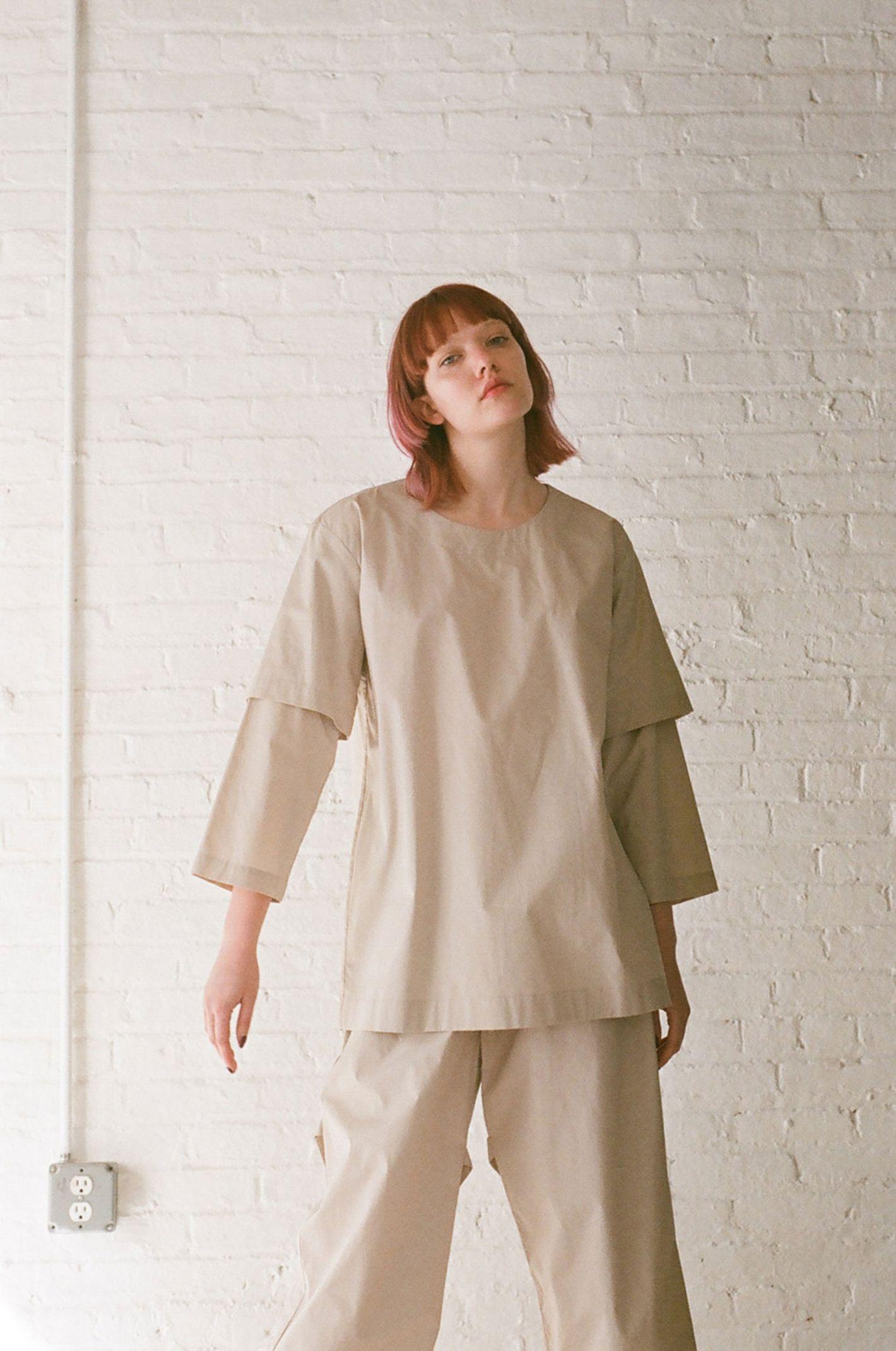 Rowena Sartin Double Sleeve Fake T-Shirt