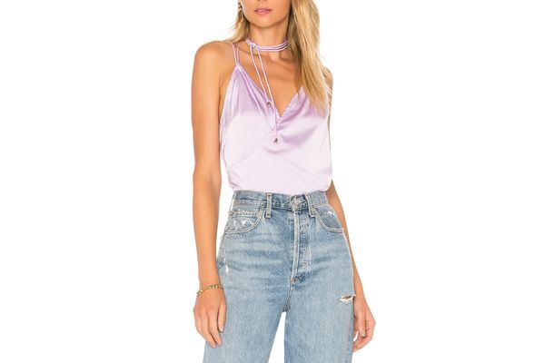 by the way. KENNEDY STRAPPY SURPLICE TOP