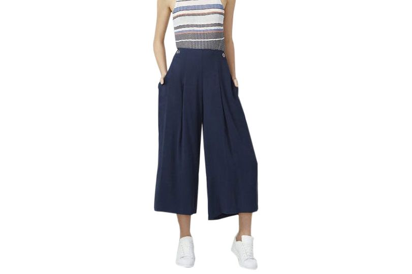 Rachel Roy Pleated Gaucho Pants