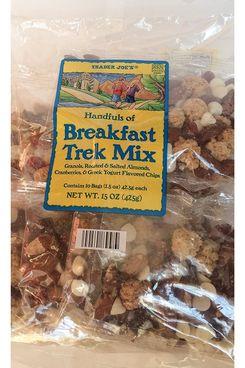 Trader Joe's Breakfast Trek Mix, 1 bag with 10 1.5-oz packs