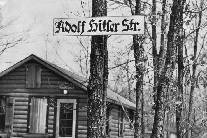 Hitler Street in Long Island