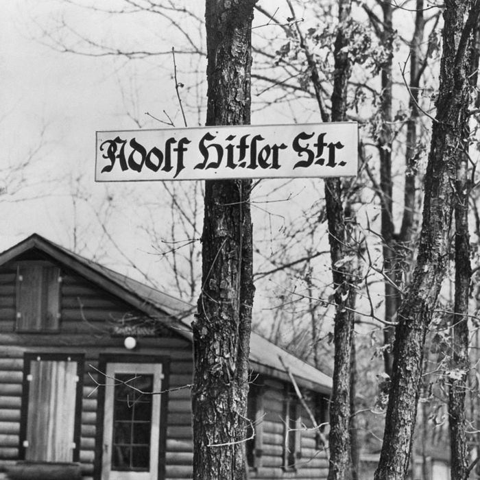 Hitler Street in Long Island