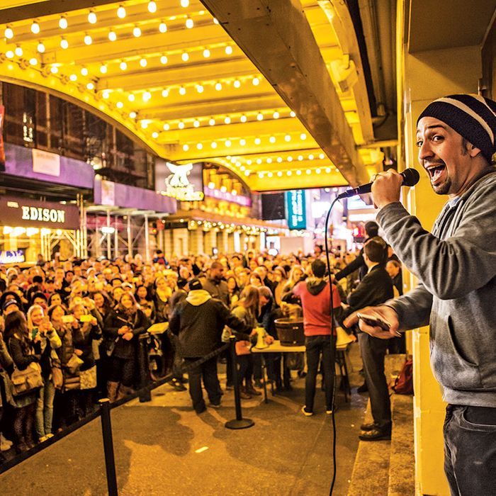 Two-and-half hours before each performance patrons may enter their name outside the theater for a chance to buy up to two $10 front row tickets. Winners' names will be drawn two hours before show time. Entrants must present photo ID, and the winners must pay with cash at the box office.