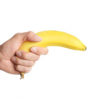Banana Wielding Man Won't Be a Felon After All