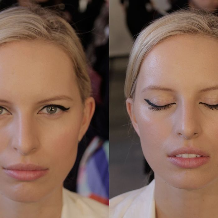 Beauty Gif Charlotte Tilbury Shows Us How To Do A Cowboy Cat Eye