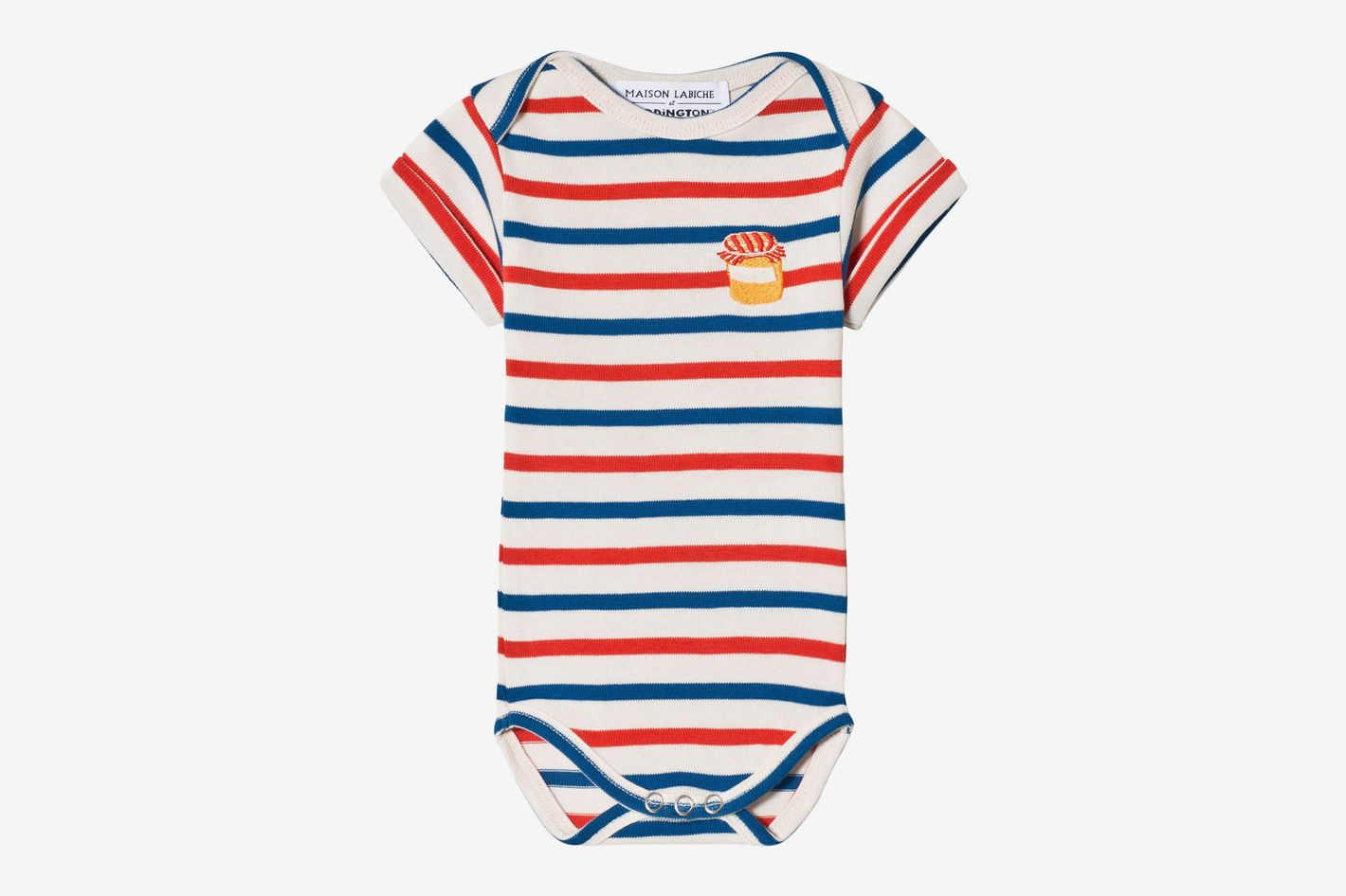 Maison Labiche White, Blue and Red Paddington Striped Body