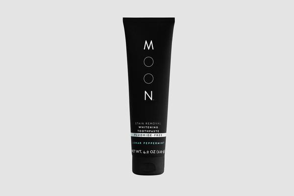Lait détachant blanchissant dentifrice sans fluorure saveur de menthe poivrée lunaire