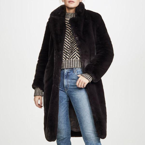 Apparis Siena Faux Fur Coat