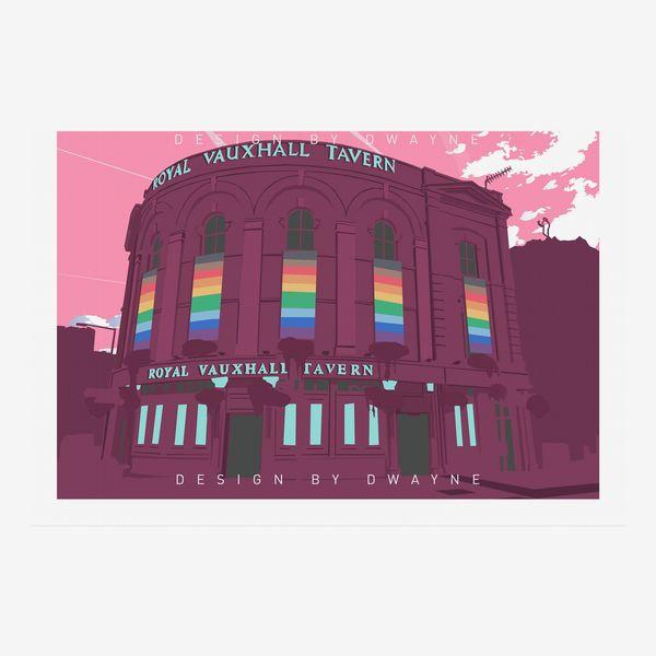 The Royal Vauxhall Tavern Pride Print
