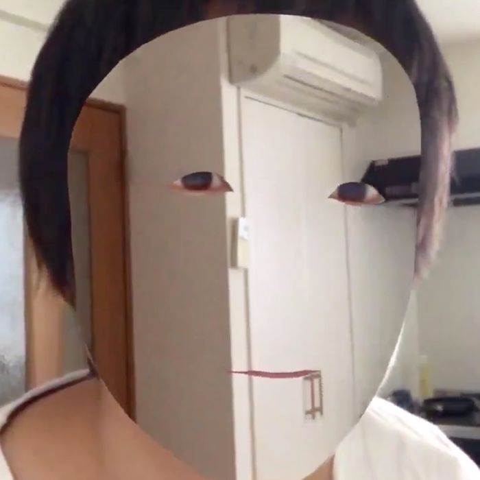 Man Creates Unsettling Invisible Face Mask on iPhone X