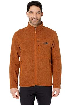 The North Face Gordon Lyons Full Zip, Caramel Cafe Heather