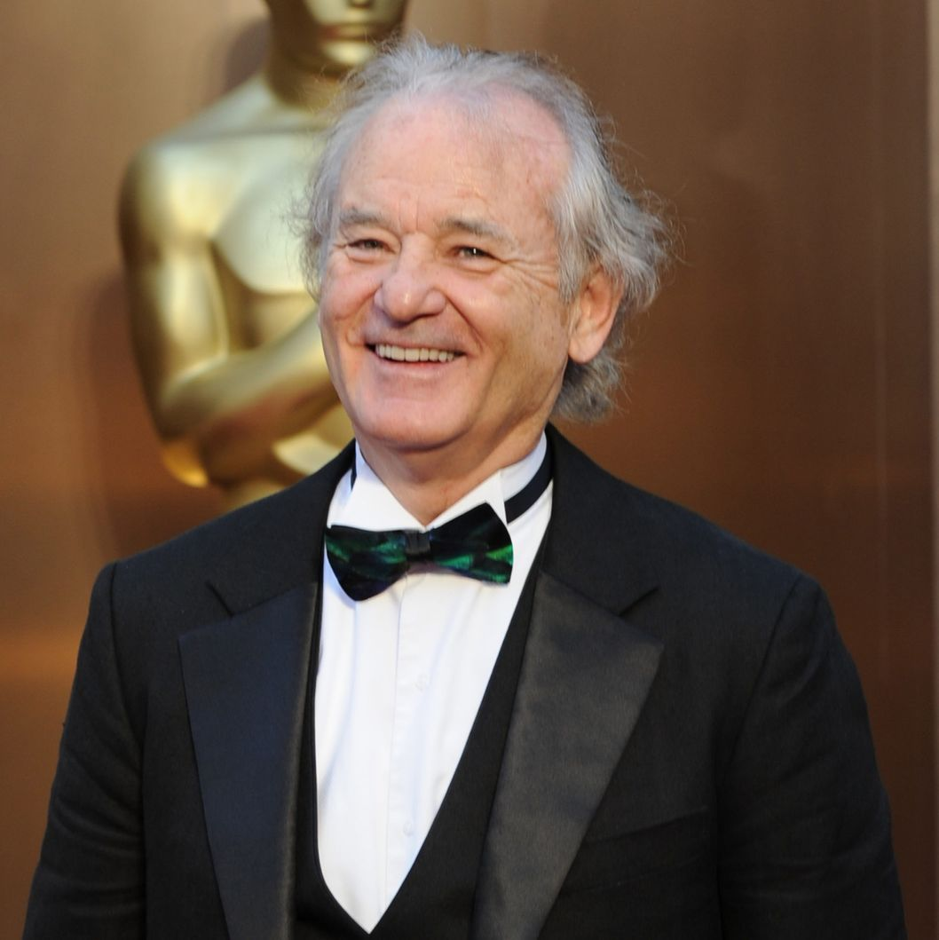 Actor Bill Murray arrives on the red carpet for the 86th Academy Awards on March 2nd, 2014 in Hollywood, California. AFP PHOTO / Robyn BECK        (Photo credit should read ROBYN BECK/AFP/Getty Images)