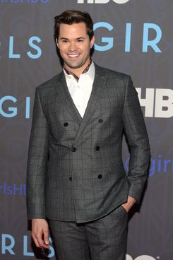 "Andrew Rannells  attends the premiere of ""Girls"" Season 2 hosted by HBO at NYU Skirball Center on January 9, 2013 in New York City."