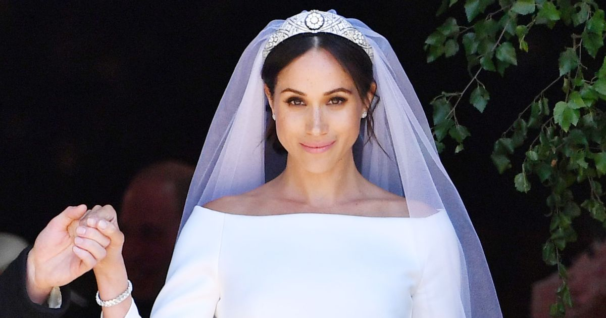 31bfb05ed6 Emilia Wickstead Says Meghan Markle s Wedding Gown Is a Copy